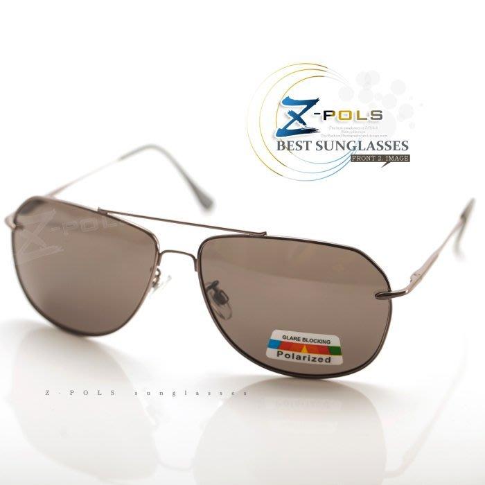 ※Z-POLS 金屬質感設計款※名牌風格細緻帥氣設計 寶麗來偏光 太陽眼鏡,全新上市!