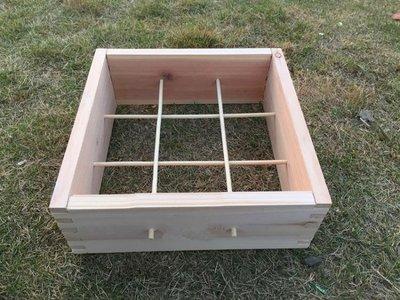 [新品]中蜂格子箱中蜂箱不煮蠟蜂箱蜜蜂...