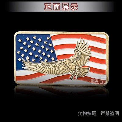 美國俄亥俄州Ohio飛鷹國旗紀念幣
