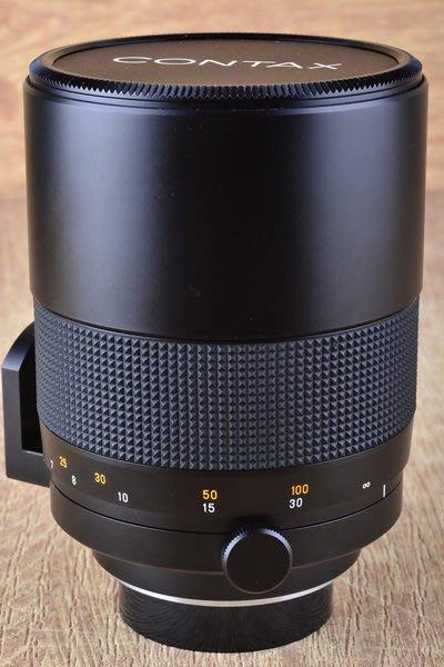 【品光攝影】Contax Carl Zeiss T* Mirotar 500mm F8 反射鏡 內建遮光罩 日製 #33510J