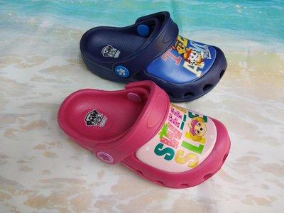 💖正品💕汪汪隊兒童輕量彈性防水布希鞋 花園鞋 園丁鞋 洞洞鞋 雨鞋 懶人鞋