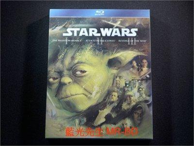 [藍光BD] - 星際大戰 1~3 前傳三部曲 Star Wars Prequel Trilogy 精裝三碟典藏版