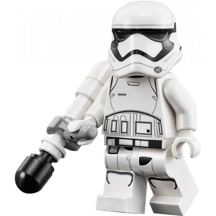 【LEGO 樂高】全新正品 益智玩具 積木/ Star Wars 星際大戰 75139 | 單一人偶: 白兵+黑槍+大砲