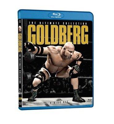 ☆阿Su倉庫☆WWE摔角 Goldberg - The Ultimate Collection Blu-ray 地表最強王者高柏典藏專輯藍光版