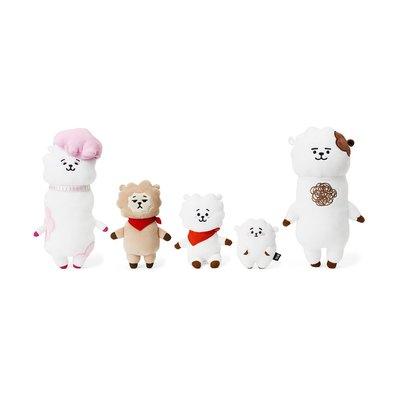全新 韓國代購 Line friends BT21 BTS RJ 家族 一套5隻公仔 JIN 金碩珍 正品 預購(可旺角門市交收)預購貨品需先入數