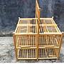 捕鳥籠打籠鳥籠竹籠閃電拍籠純手工竹制八哥鹦