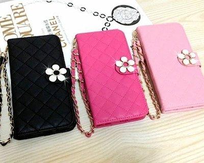 韓國小花菱格紋皮套 S9 S8 S7 Edge Note 5 J7 A8手機殼手機套iphone X iphone 6 S Plus iphone 8 Plus