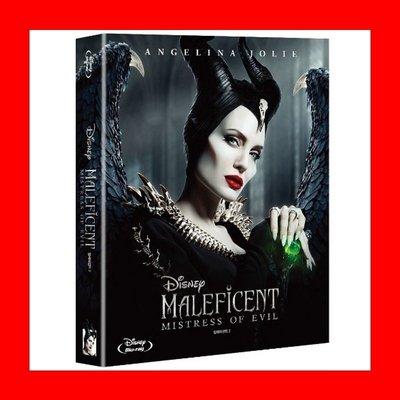 【BD藍光】黑魔女2:全紙盒限量鐵盒版(台灣繁中字幕)Maleficent 2史密斯任務安潔莉娜裘莉