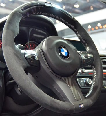 BMW M POWER F20 F21 F30 F31 F35 performance  carbon steering wheel M SMG 撥片方向盤