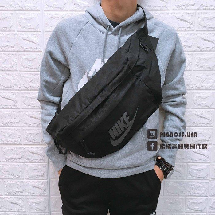 【豬豬老闆】Nike Large Tech Hip Pack 黑灰 大容量 斜肩包 霹靂包 大腰包 BA5751-010