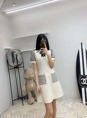 ✤寵愛Pamper for you✤Gucci 時尚優雅網紗刺繡連身裙