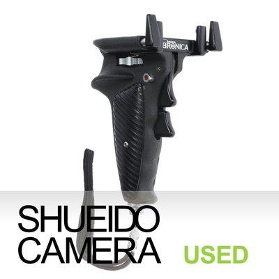 集英堂写真機【3個月保固】中古美品 / ZENZA BRONICA 經典 槍型 把手 手把 EC S2 S用 10441