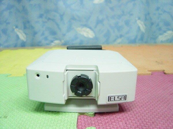 Y【小劉二手家電】ELSA監視攝影機鏡頭,接上錄放影機即可錄影,日本製,操作easy,$1000!