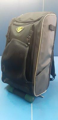 ((綠野運動廠))最新LS GAMER BAG V系列棒壘後背裝備袋,內部隔層設計,頭盔外掛,獨立置鞋空間,一袋搞定~