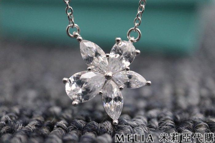 Melia 米莉亞代購 美國代買 Tiffany&Co. 925純銀 Tiffany 蒂芙尼 8月新品 項鍊 雪花 花瓣