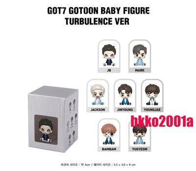 贈驚喜包 GOT7 [ Gotoon Baby Figure (Turbulence Ver.) ] (分售 下標注明)