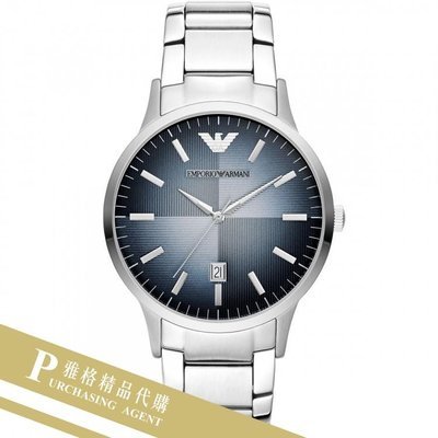 雅格時尚精品代購EMPORIO ARMANI 阿曼尼手錶AR11182 經典義式風格簡約腕錶 手錶