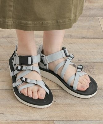 WaShiDa【ALP PREMIER】TEVA 美國品牌 夏日 運動 經典 多點式 調整 織帶 水陸 涼鞋 灰 女鞋