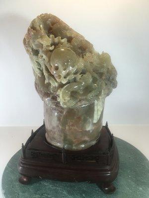 [玉旺陳氏] 四大名石壽山石 青田石 昌化石 巴林石之巴林石雕