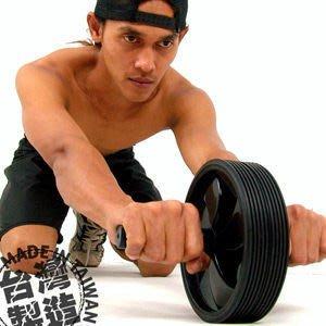 【推薦+】Wheel大型雙輪 健美輪 P260-701 (台灣製造.健腹輪.緊腹輪.運動健身器材.便宜)