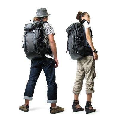 日系吉田旅行包男士背包潮男雙肩包女休閑登山包牛津布電腦包學生戶外雙肩背包大容量