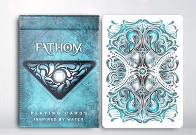 [Fun magic] 藍色天湖撲克牌 深海探索 Fathom Playing Cards