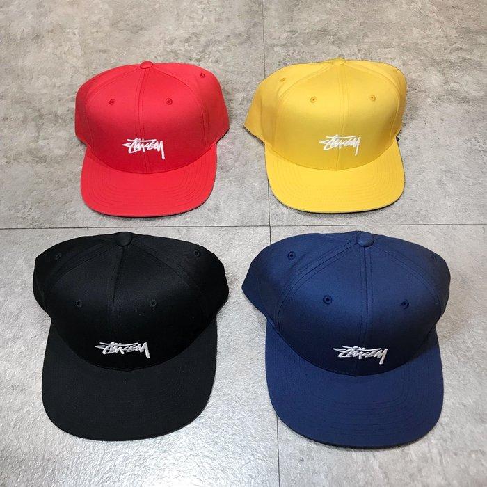 【Faithful】STUSSY SU19 STOCK CAP【131895】刺繡 棒球帽