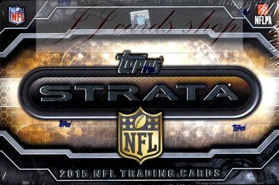 【☆ JJ卡舖 ☆】NFL 2015 Topps Strata Football 堆疊卡系列 美式足球 卡盒
