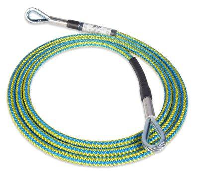 英國 STEIN 4.0m Wire Core Work Positioning Lanyard 不銹鋼雙眼挽索繩