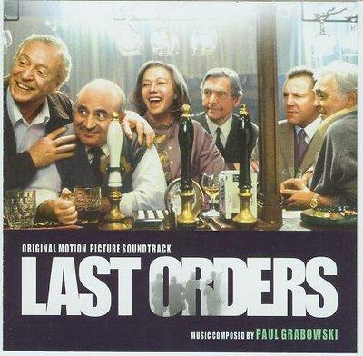 """[原聲帶]-""""最後約定(Last Orders)""""- Paul Grabowsky,美版"""