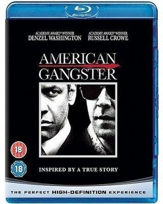 BD 全新英版【美國黑幫】【American Gangster】Blu-ray 藍光 丹佐華盛頓