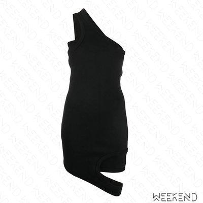 【WEEKEND】 ZILVER Reversed 特殊剪裁 錯位 背心裙 短裙 黑色