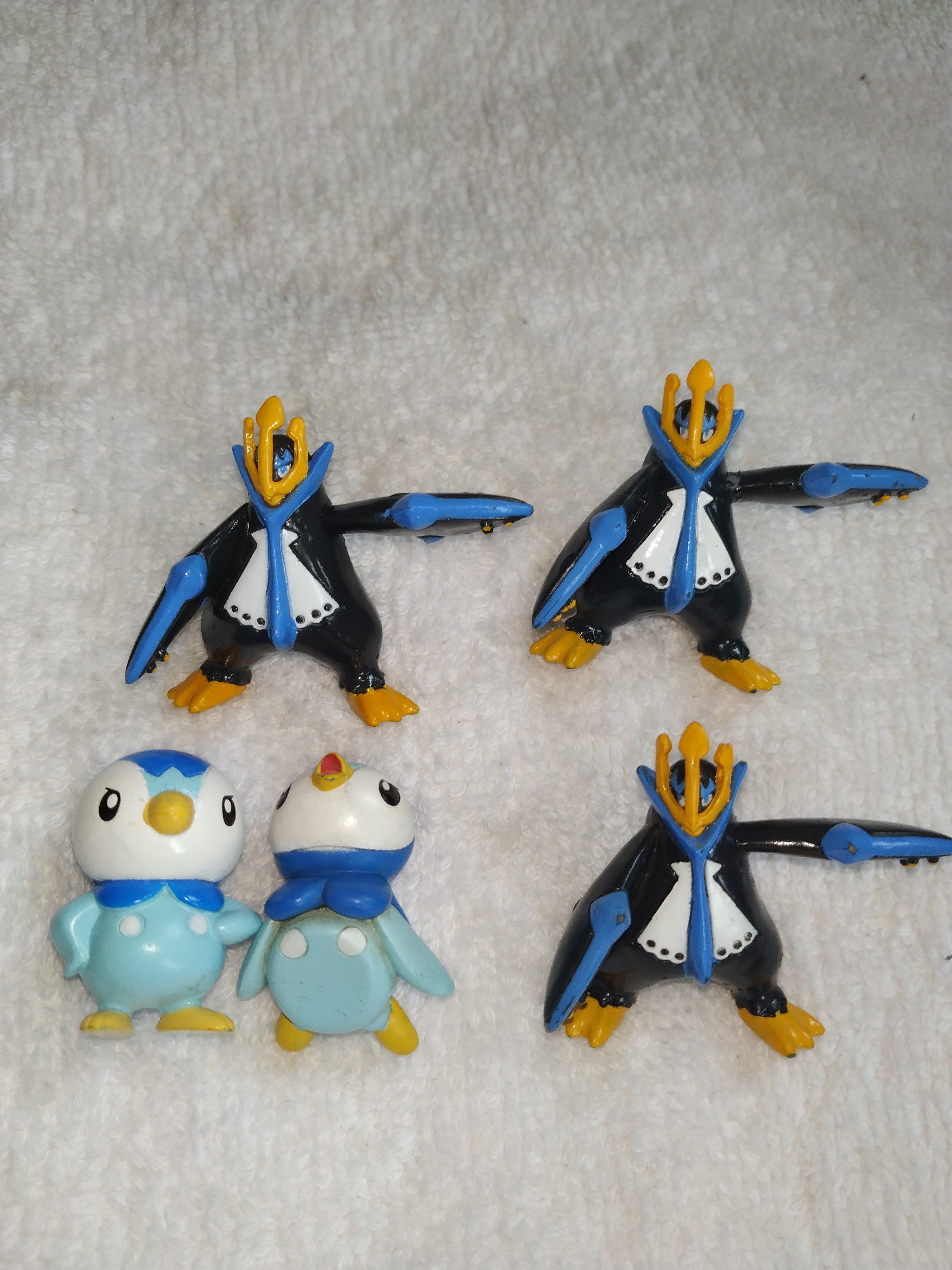 アニメ 神奇寶貝寵物小精靈寶可夢萬代clipping食玩波加曼圓企鵝帝王拿波