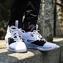 NIKE PG 3 EP 白 全白 黑白色 黑灰 白灰 潑墨 機能 軟底 藍球鞋 男鞋 AO2608-101