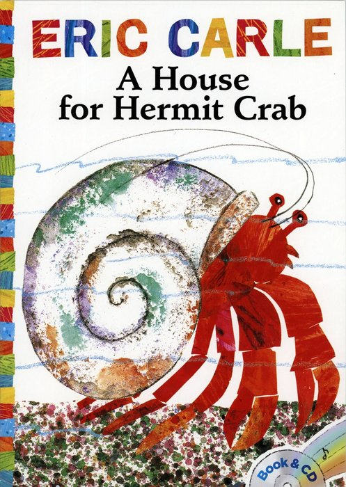 *小貝比的家*A HOUE FOR HERMIT CRAB /平裝書+CD/7~12歲