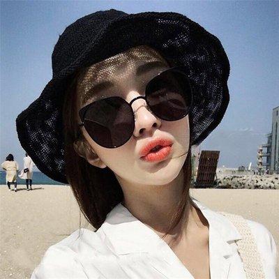 2018新款網紅墨鏡女韓版潮復古太陽鏡長臉圓臉個性韓國女式眼鏡男