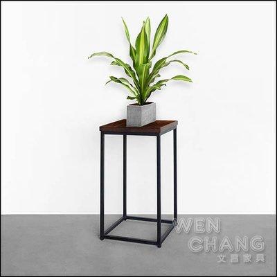訂製品 鐵木盆栽架 接受任何尺寸、顏色訂製 價格另計  CUA-007 *文昌家具*