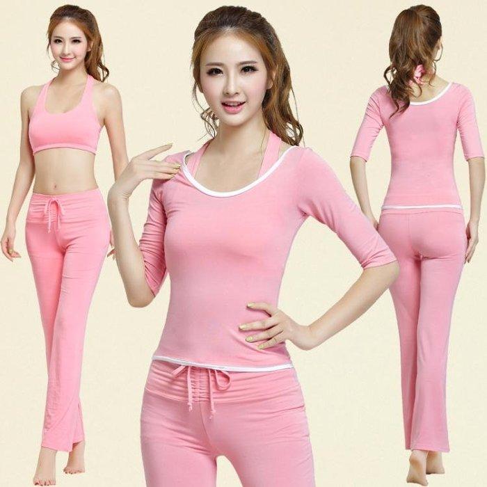 新款瑜伽服套裝 愈加服女新品季三件套 瑜珈健身運動舞蹈服
