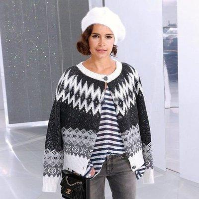 已售出 Chanel ❤️ 明星款針織羊毛外套 - Miroslava Duma