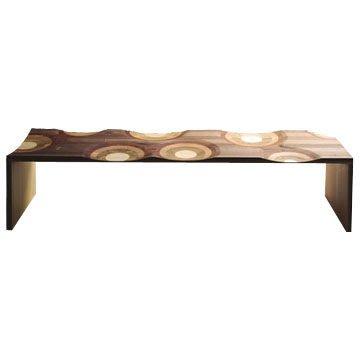 Luxury Life【正品】義大利 Horm Ripples Bank Bench 漣漪 原木長凳
