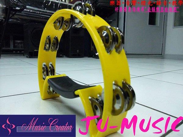 造韻樂器音響- JU-MUSIC - Peace 全新 半月型 鈴鼓 台灣製造 就愛MIT 顏色隨機出貨