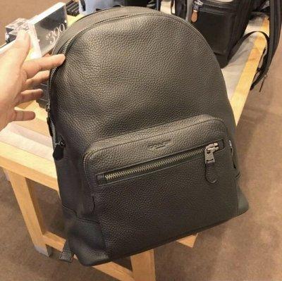 美國正品 琪琪OUTLET代購 COACH 23247 新款男士全皮後背包 旅行休閒書包 雙肩側背包 後背包 附代購憑證