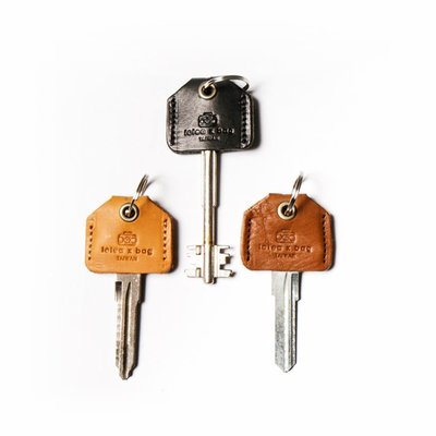 點子包【icleaXbag】真皮手工鑰...
