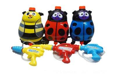 佳佳玩具 ----- 瓢蟲背包水槍 小 造型水槍 兒童水槍 氣壓式水槍 3色 1000ml 【CF119830】