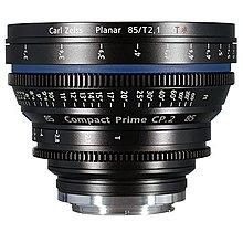 九晴天(租電影鏡頭,租鏡頭) Zeiss Compact Prime CP.2 85mm T2.1 EF Mount
