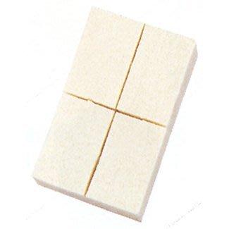 可刷卡 日本直購 三善 海綿 化妝棉  方形 四切  粉底 化妝用具