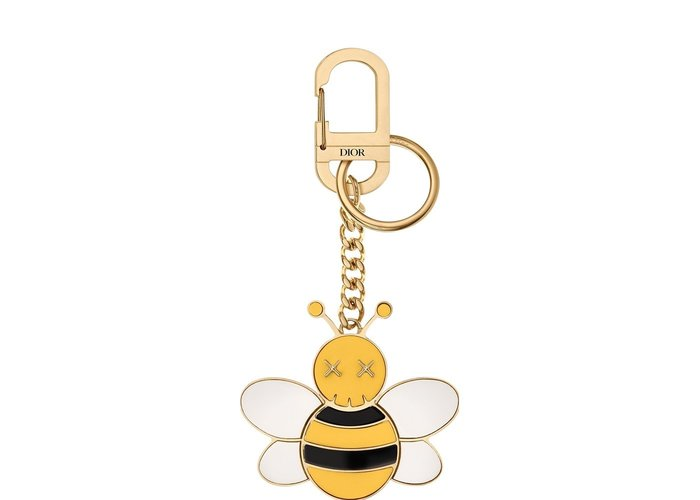 【紐約范特西】預購 Dior x Kaws Bee Key Ring Yellow