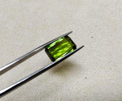 【Texture & Nobleness 低調與奢華】天然無處理 綠碧璽 綠色電氣石 4.6克拉