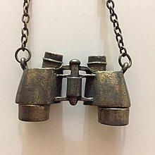 望遠鏡金屬項鍊,望遠,項鍊,金屬,個性,復古