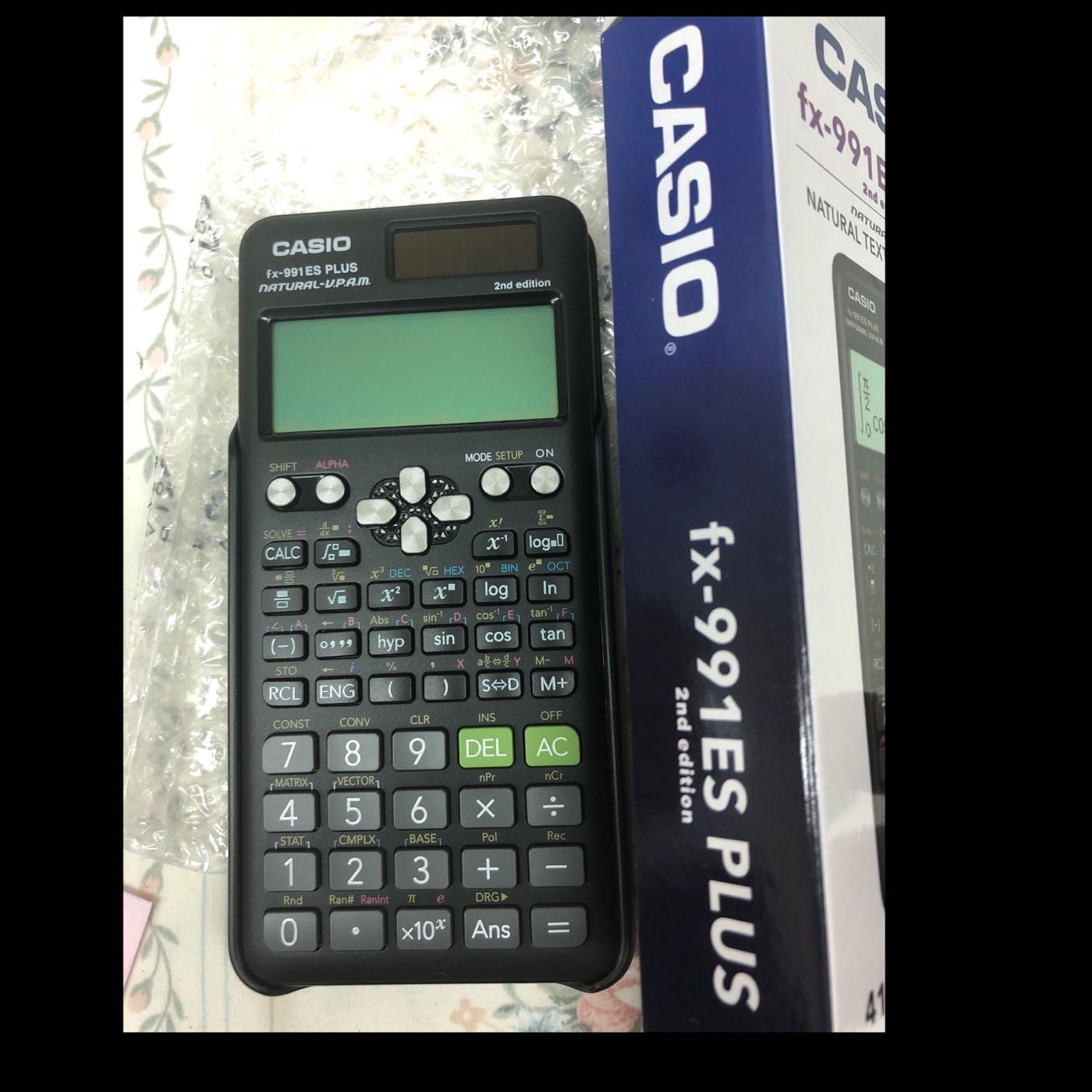 衝評價讚!免運費二代991全新台灣公司貨保固2年Casio 計算機 fx 991 ES PLUS II NEW強效型工程